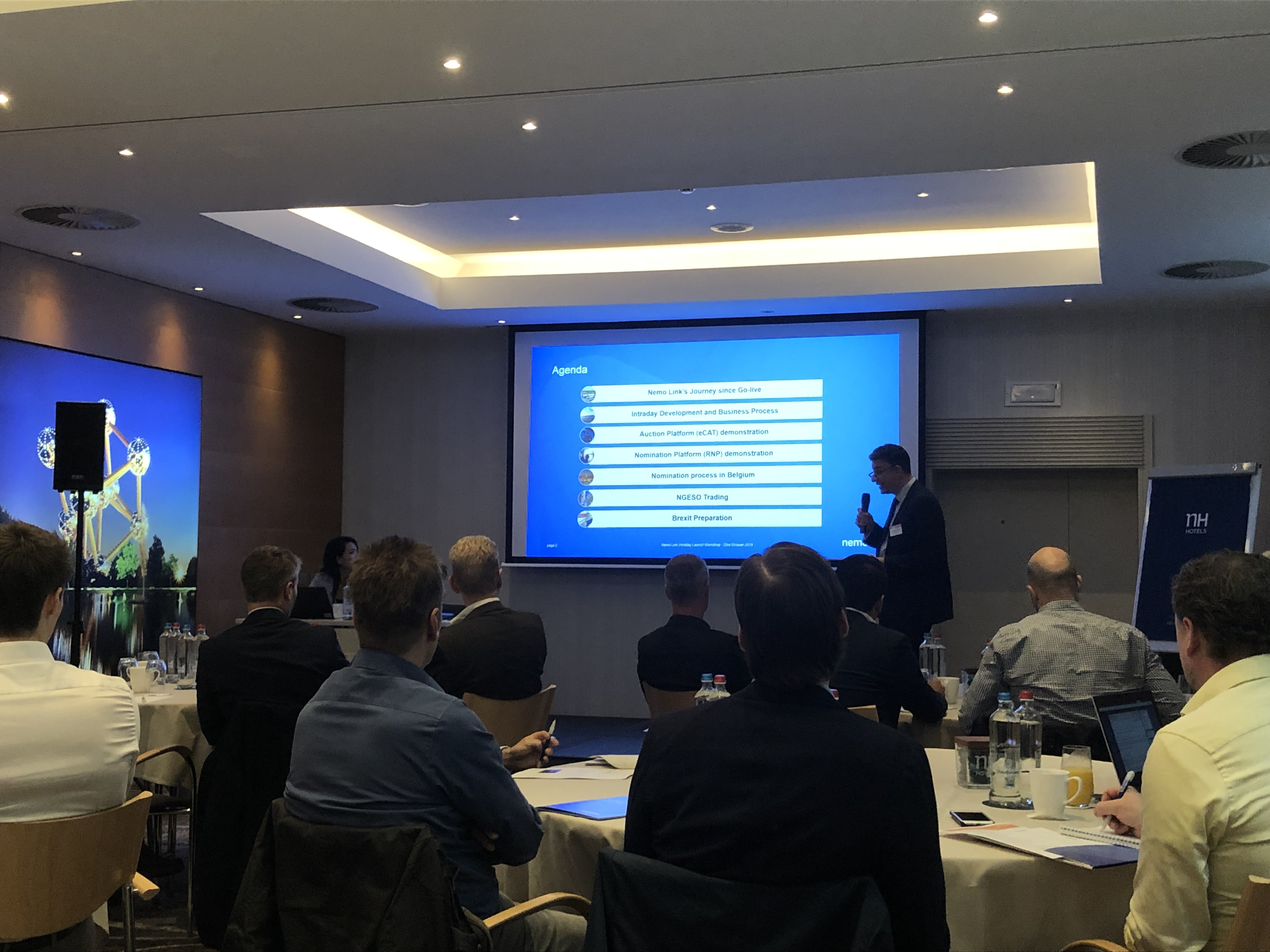 Intraday Launch Event in Brussels, 23rd October 2019